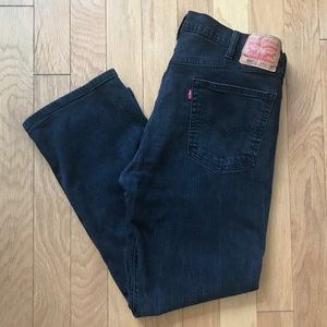 Levis 559 Relaxed Straight Jeans 40 x 30